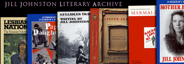 Jill Johnston Literary Archive